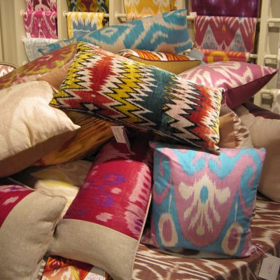photo of colorful pillows