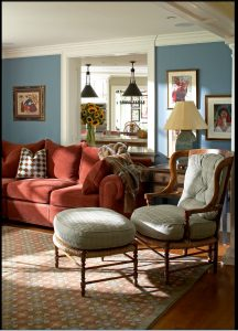 photo of family room design