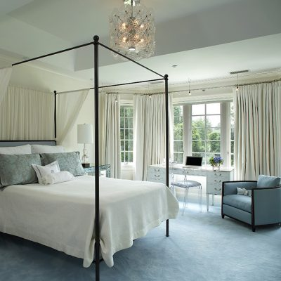 photo of tranquil bedroom design