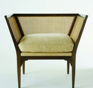 photo of vintage accent chair
