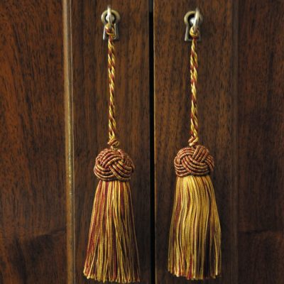 photo of hanging tassels